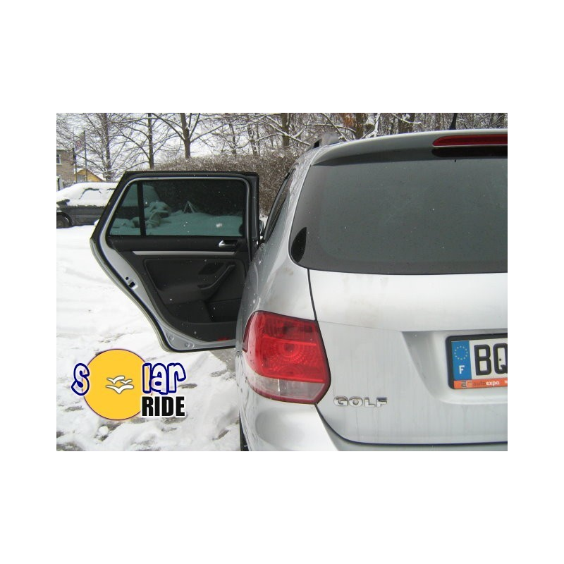 2009 Volkswagen Golf 5 1 6 Comfortline: Zasłonki Dedykowane Do Volkswagen Golf V Kombi Variant