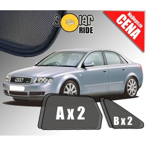 Zasłonki / roletki / osłony przeciwsłoneczne dedykowane do Audi A4 B6 Sedan