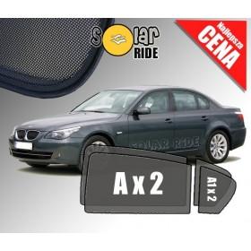 Zasłonki / zasłony / rolety / roletki / osłony / osłonki przeciwsłoneczne dedykowane / pod wymiar / do BMW E60