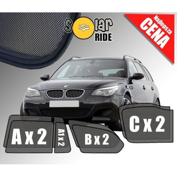 Zasłonki / roletki / osłony przeciwsłoneczne dedykowane do BMW E61 Touring