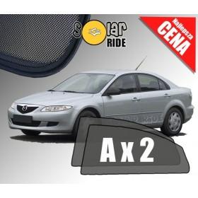 Zasłonki / zasłony / rolety / roletki / osłony / osłonki przeciwsłoneczne dedykowane / pod wymiar / do Mazda 6 Liftback (2002-20