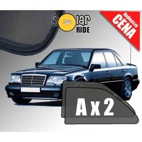Zasłonki / roletki / osłony przeciwsłoneczne dedykowane do Mercedes-Benz W124 Sedan E-Klasa