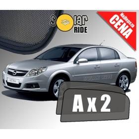 Zasłonki / roletki / osłony przeciwsłoneczne dedykowane do Opel Vectra C Sedan (2002-2008)