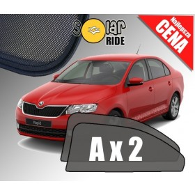 Zasłonki / roletki / osłony przeciwsłoneczne dedykowane do Skoda Rapid Liftback Sedan