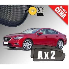 Zasłonki / roletki / osłony przeciwsłoneczne dedykowane do Mazda 6 III Sedan