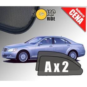 Zasłonki / roletki / osłony przeciwsłoneczne dedykowane do Mercedes-Benz W221 S-Klasa Sedan LONG (2005 - 2013)