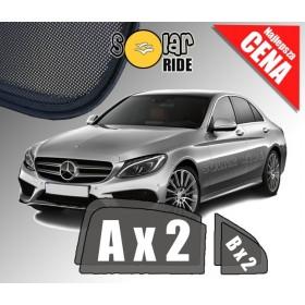 Zasłonki / roletki / osłony przeciwsłoneczne dedykowane do Mercedes-Benz W205 Sedan C-Klasa