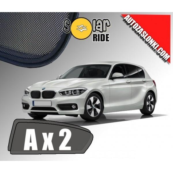 Zasłonki / roletki / osłony przeciwsłoneczne dedykowane do BMW serii 1 F20 od 2011r