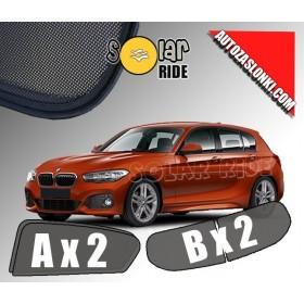 Zasłonki / roletki / osłony przeciwsłoneczne dedykowane do BMW serii 1 F20 z klapą od 2011r