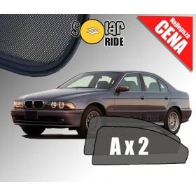 Zasłonki / roletki / osłony przeciwsłoneczne dedykowane do BMW E39 SEDAN (1995-2003)