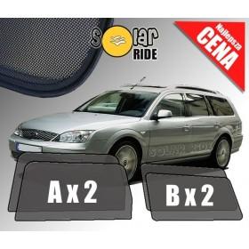 Zasłonki / rolety / roletki / osłony / osłonki przeciwsłoneczne dedykowane / pod wymiar / do Forda Mondeo III Kombi