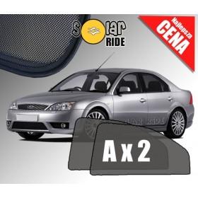 Zasłonki / roletki / osłony / osłonki przeciwsłoneczne dedykowane / pod wymiar / do Forda Mondeo III Sedan