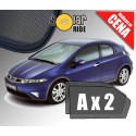 Zasłonki / roletki / osłony przeciwsłoneczne dedykowane do HONDA CIVIC VIII Hatchback (2006-2011)