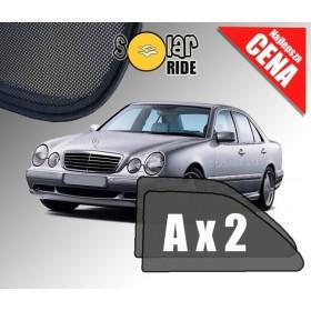 Zasłonki / rolety / roletki / osłony / osłonki przeciwsłoneczne dedykowane / pod wymiar / do Mercedesa W210 E-Klasa