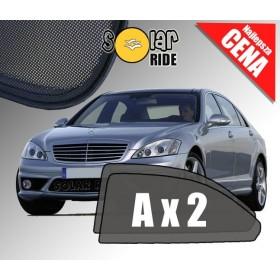 Zasłonki / roletki / osłony przeciwsłoneczne dedykowane do Mercedes-Benz W221 S-Klasa Sedan (2005-2013)