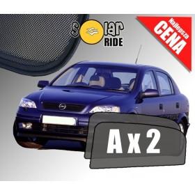Zasłonki / roletki / osłony przeciwsłoneczne dedykowane do Opel Astra G (1998-2009)