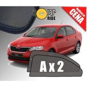 Zasłonki / roletki / osłony przeciwsłoneczne dedykowane do Skoda Rapid Liftback Sedan (2012-2019)