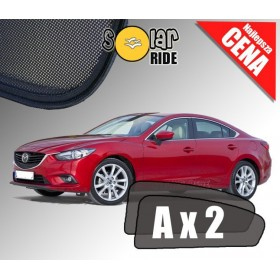 Zasłonki / zasłony / rolety / roletki / osłony / osłonki przeciwsłoneczne dedykowane / pod wymiar / do Mazda 6 III Sedan (2012-2
