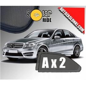 Zasłonki / zasłony / rolety / roletki / osłony / osłonki przeciwsłoneczne dedykowane / pod wymiar / do Mercedes-Benz W204 Sedan