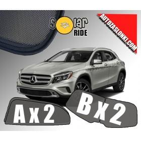 Zasłonki / roletki / osłony przeciwsłoneczne dedykowane do Mercedes-Benz GLA I (X156) (2013-2019)