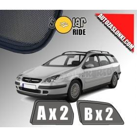 Zasłonki / roletki / osłony przeciwsłoneczne dedykowane do Citroën C5 I Kombi (2001-2008)