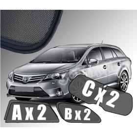 Zasłonki / roletki / osłony przeciwsłoneczne dedykowane do Toyota Avensi III Kombi