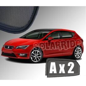 Zasłonki / roletki / osłony przeciwsłoneczne dedykowane do Seat Leon 3 III (2012-2020)