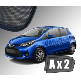 Zasłonki / roletki / osłony przeciwsłoneczne dedykowane do Toyota Yaris III (2011-2019)