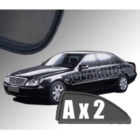 Zasłonki / roletki / osłony przeciwsłoneczne dedykowane do Mercedes-Benz W220 S-Klasa Sedan (1998-2005)