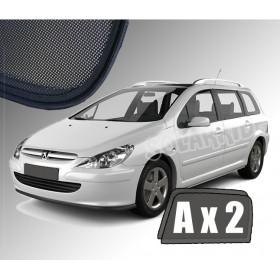 Zasłonki / roletki / osłony przeciwsłoneczne dedykowane do Peugeot 307 SW / Kombi (2001-2008)