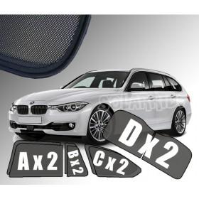 Zasłonki / roletki / osłony / osłonki przeciwsłoneczne dedykowane / pod wymiar / BMW F31 serii 3 Touring (2011-2018)