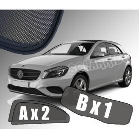 Zasłonki / roletki / osłony przeciwsłoneczne dedykowane do Mercedes-Benz W176 A-KLASA (2012-2018)