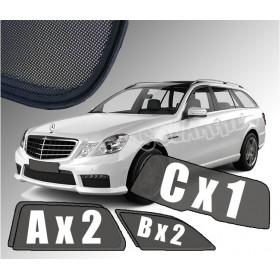 Zasłonki / roletki / osłony przeciwsłoneczne dedykowane do Mercedes-Benz Klasa E W212 Kombi (2009-2016)