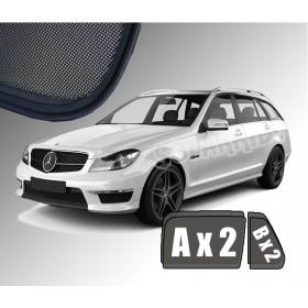 Zasłonki / roletki / osłony przeciwsłoneczne dedykowane do Mercedes-Benz S204 W204 C-Klasa Kombi (2007-2014)