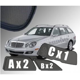 Zasłonki / roletki / osłony przeciwsłoneczne dedykowane do Mercedes-Benz W211 E-Klasa Kombi (2002-2009)