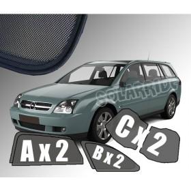 Zasłonki / roletki / osłony przeciwsłoneczne dedykowane do Opel Vectra C Kombi (2003-2008)