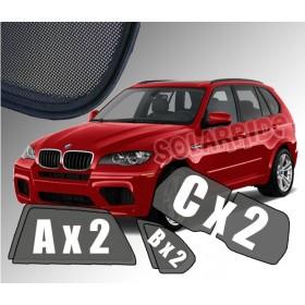 Zasłonki / roletki / osłony przeciwsłoneczne dedykowane do BMW X5 E70 (2006-2013)