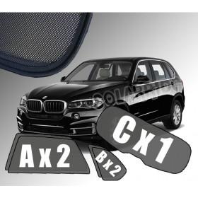 Zasłonki / osłony / osłonki przeciwsłoneczne dedykowane / pod wymiar / do BMW X5 F15 (2013-2018)