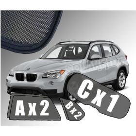 Zasłonki / roletki / osłony / osłonki przeciwsłoneczne dedykowane / pod wymiar / do BMW X1 E84 (2009-2015)