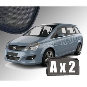 Zasłonki / roletki / osłony przeciwsłoneczne dedykowane do Opel Zafira B (2005-2014)