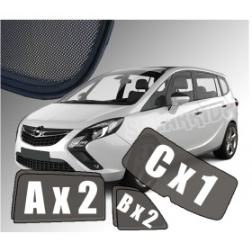 Zasłonki / roletki / osłony przeciwsłoneczne dedykowane do Opel Zafira C Tourer (2012-2019)