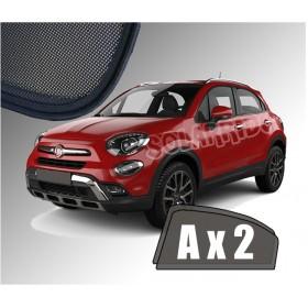 Zasłonki / roletki / osłony / osłonki przeciwsłoneczne dedykowane / pod wymiar / do  Fiata 500X od 2014 do teraz