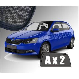 Zasłonki / roletki / osłony przeciwsłoneczne dedykowane do Skoda Fabia 3 III Hatchback (2014-)