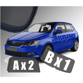 Zasłonki / roletki / osłony przeciwsłoneczne dedykowane do Skoda Fabia III Hatchback (2014-)
