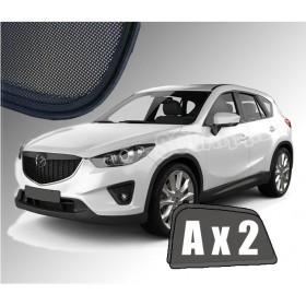 Zasłonki / zasłony / rolety / roletki / osłony / osłonki przeciwsłoneczne dedykowane / pod wymiar / do Mazda CX-5 (2012-2017)