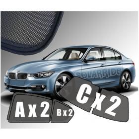 Zasłonki / roletki / osłony przeciwsłoneczne dedykowane do BMW 3 F30  (2011-)