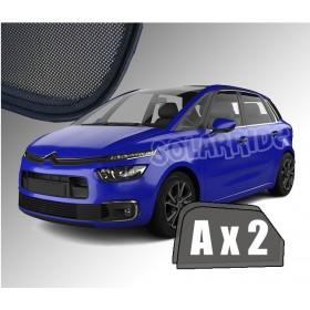 Zasłonki / roletki / osłony / osłonki przeciwsłoneczne dedykowane / pod wymiar / do Citroën C4 Picasso II  2013-2019