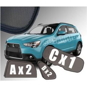 Zasłonki do Mitsubishi ASX (2010-)