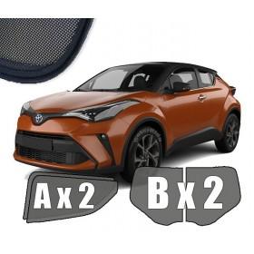 Zasłonki / roletki / osłony przeciwsłoneczne dedykowane do Toyota C-HR (2016-)