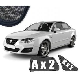 Zasłonki / roletki / osłony przeciwsłoneczne dedykowane do Seat Exeo Sedan (2008-2013)